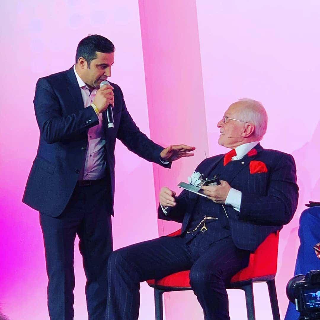 Tarek Haddad with Dan Peña in London Real Summit