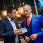 Tarek Haddad and Brain Rose having a conversation in London Real- Dreams catcher