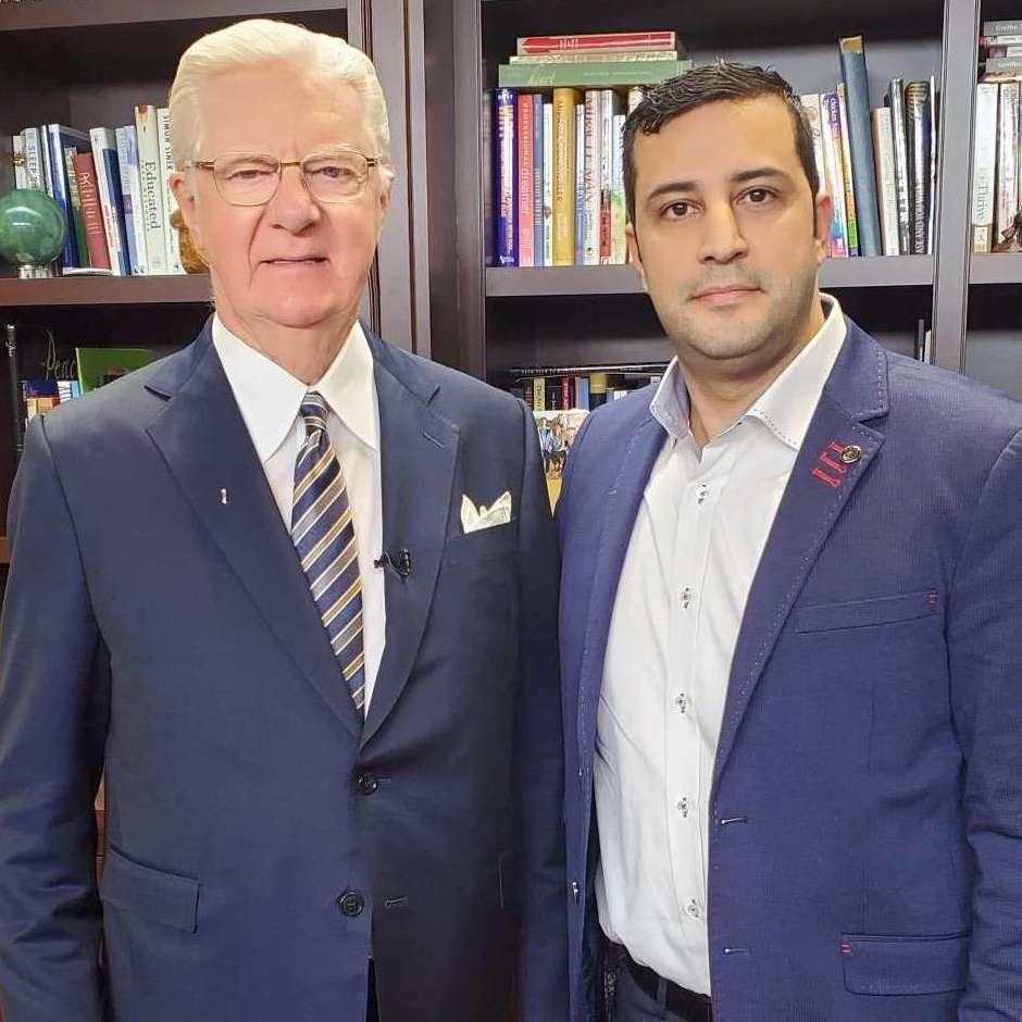 Tarek Haddad with Bob Practor