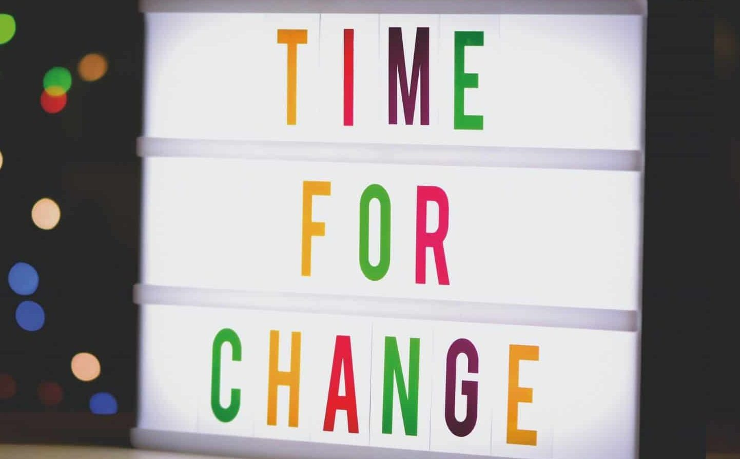 change habit